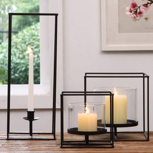 Calpe Metal Candle Lantern light Holder