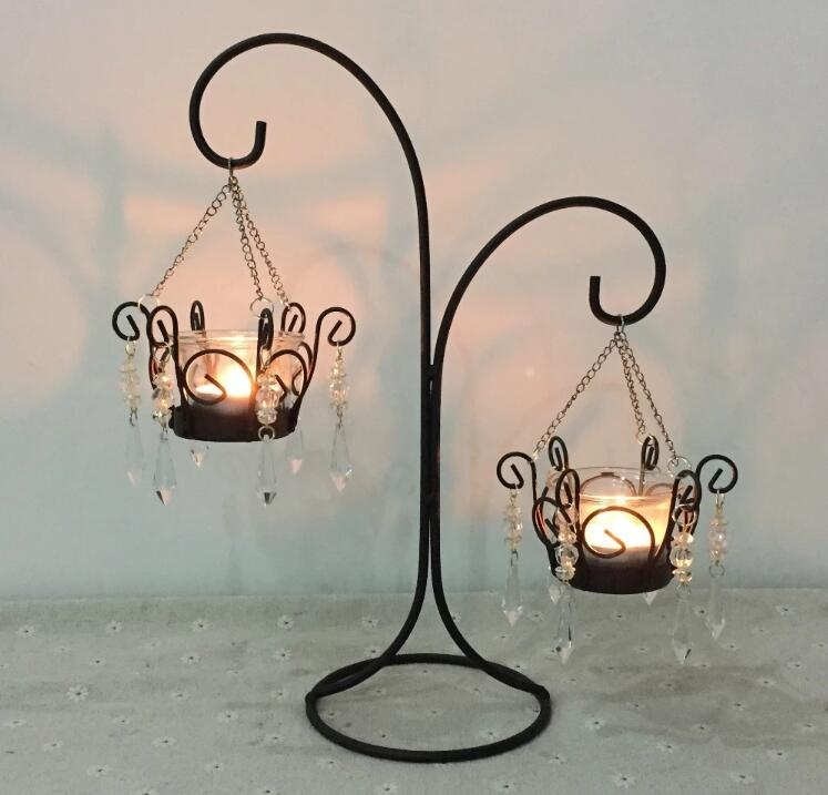 Hailee Retro Hanging Table Candle Holder