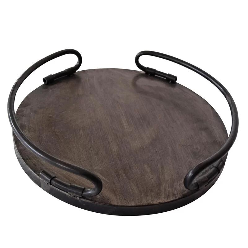 Calpe Metal Coffee Table Decorative Serving Tray