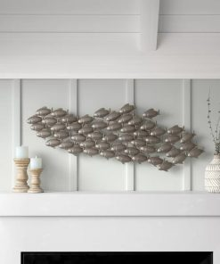 Coastal Living School of Fish Wall Decor