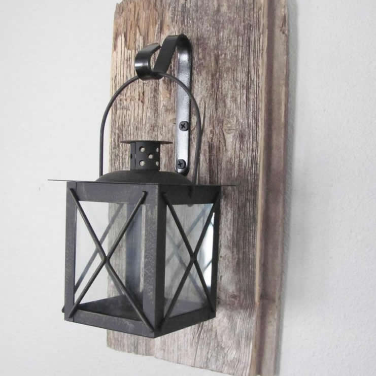 Cuddle Rustic Wall Sconce Farmhouse Decor Mounted Hanging Metal Lanterns Mocome
