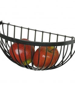 Elodie Metal Wire Wall Mounted Fruit Basket