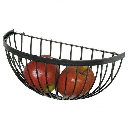 Elodie Metal Wire Wall Mounted Fruit Basket