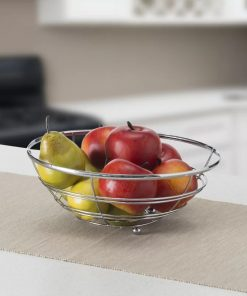 Codify Home Basics Flat Wire Fruit Bowl&basket