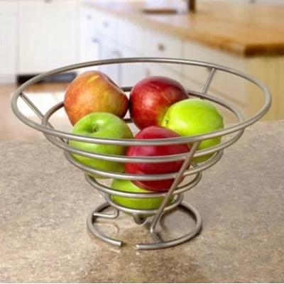 Anatomy Easy To Take Metal Spiral Fruit Bowl&Basket