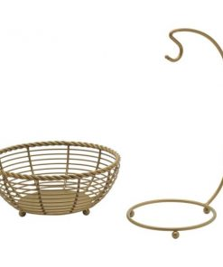Nikki Rope Fruit Basket with Banana Hanger