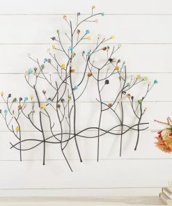 Ingrid Metal Forest Wall Decor
