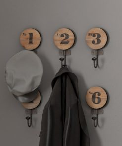 Juni Decorative Numbered Wall Hook