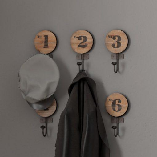 Juni Decorative Numbered Wall Hook