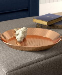 Katerina Oval Copper Dinner Serving Tray