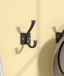 Kaye Bronze Coat and Hat Wall Hook