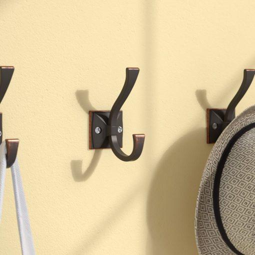 Kaye Bronze Coat and Hat Wall Hook