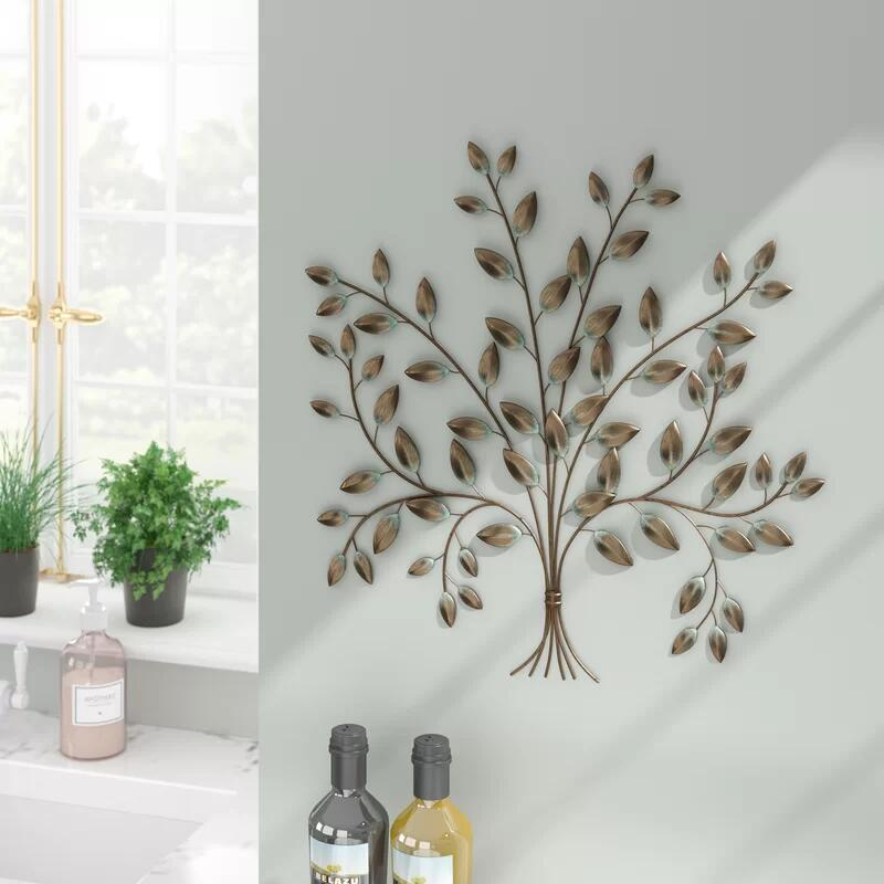 Natures Metal Tree of Life Wall Decor