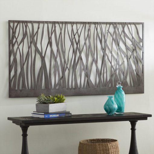 Nee Rust Olive Metal Wall Art Decor
