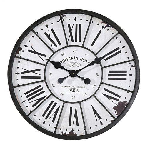 Calista Turn of The Century Style Oversized 24 Wall Clock
