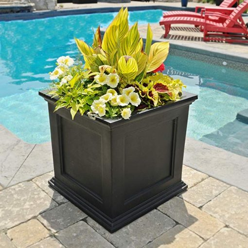 Cicely Self Watering Plastic Planter Box