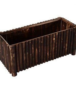 Tempeste Column Edged Wooden Raised Garden Bed Planter Box