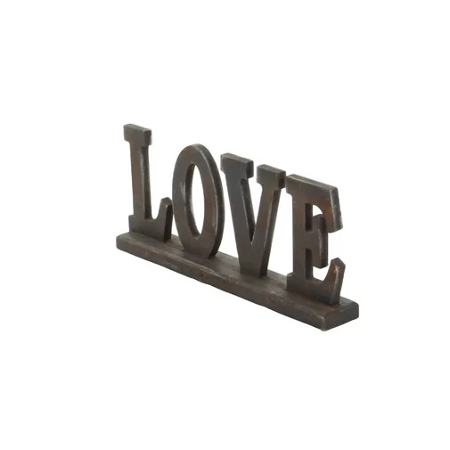 Arcadia Wooden Letter Love Sign Table Top Accent Decor