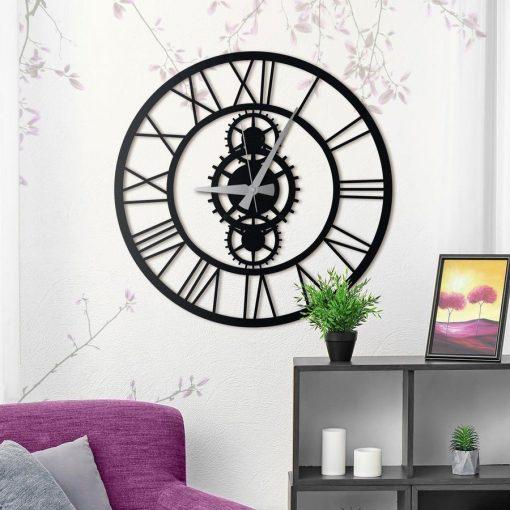 Gibson XL Wall Clock Matte black paint
