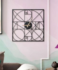 Golden Section Wall Clocks Wall Decoration