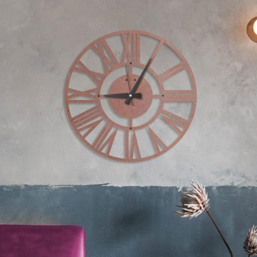 Hermes Wall clocks Matte black textured paint