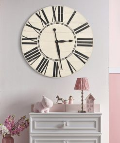Pixie BrandtWorks Roman Farmhouse Oversized Wall Clock