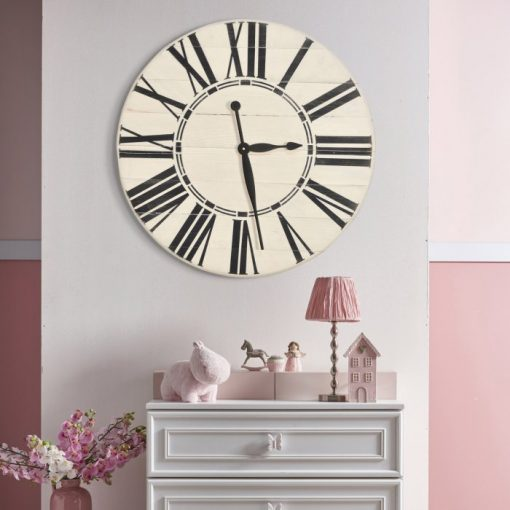 Pixie BrandtWorks Roman Farmhouse Oversized Wall Clock