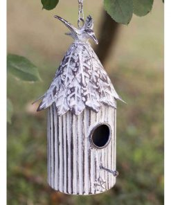 farmhouse cabana hanging birdhouse