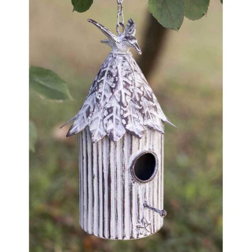 farmhouse cabana hanging birdhouse