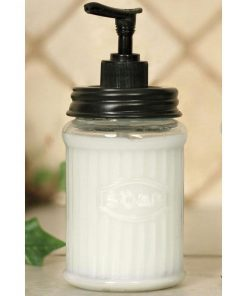 farmhouse mason jar bathroom caddy with mason jars and tissue box cover