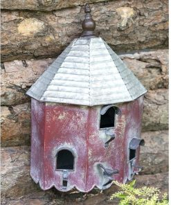 farmhouse outdoor heartwood summer wall hanging birdhouse