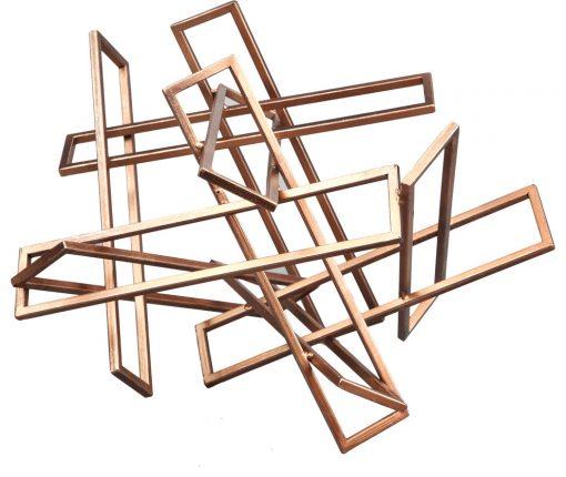 Portia Moe's Small Tangled Sculpture, Gold