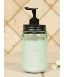 pint mason jar lotion and soap dispenser