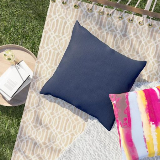 ally solid outdoor throw pillow