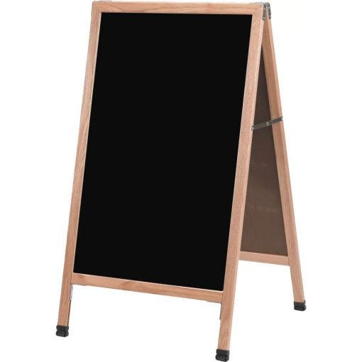 amelie a frame sidewalk free standing chalkboard