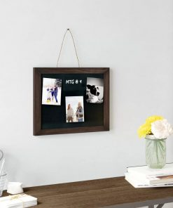 anaya wood frame hanging wall mounted chalkboard