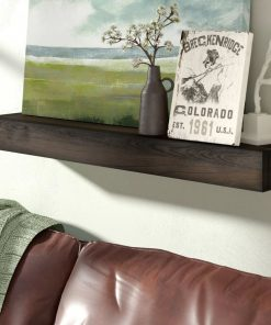 anglaise rustic style handmade solid wood wall floating shelf