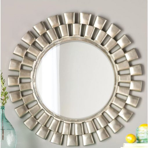 athena sunburst style beveled accent mirror