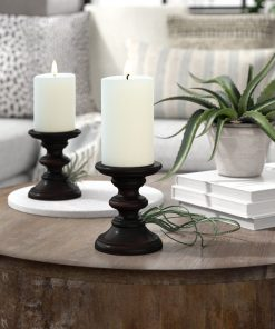 aurelia-brown-smooth-wood-candlestick