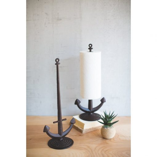bahia cast iron anchor paper towel holder