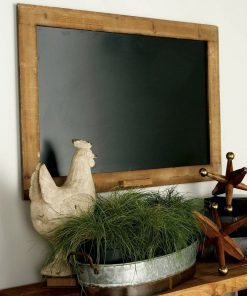 bella wood frame wall mounted chalkboard