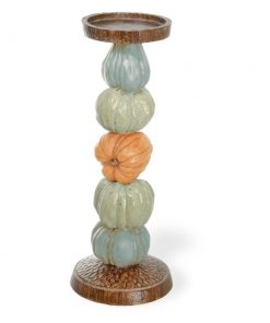 bette charming harvest dolls pumpkin plastic candlestick