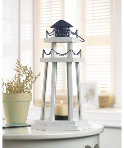 bianca white sky lake point wooden lantern