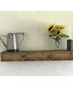 blair reclaimed solid wood floating shelf