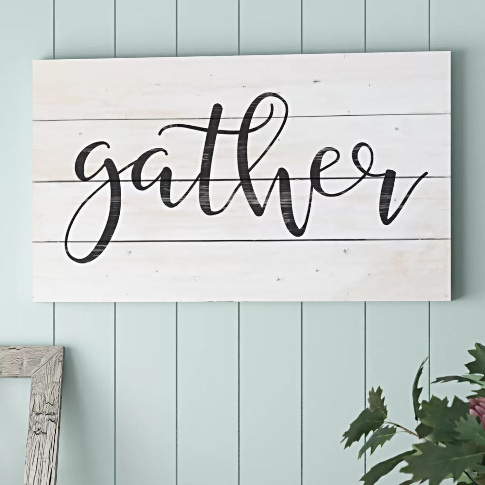 caitlyn distressed gather pallet wood wall décor