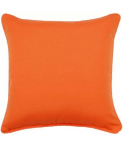 castille orange indoor outdoor throw pillow