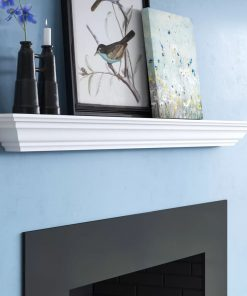 chilmark manufactured wood crown moulding wall floating shelf