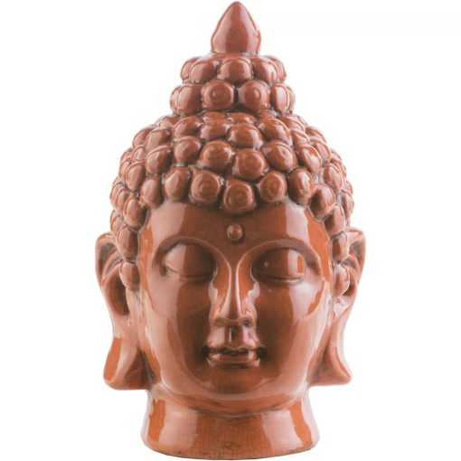 corbett modern ceramic buddha bust