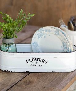 corina farmhouse flowers and garden long white bin