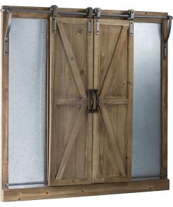 courier sliding barn doors wall mounted chalkboard